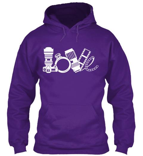 Love Purple T-Shirt Front