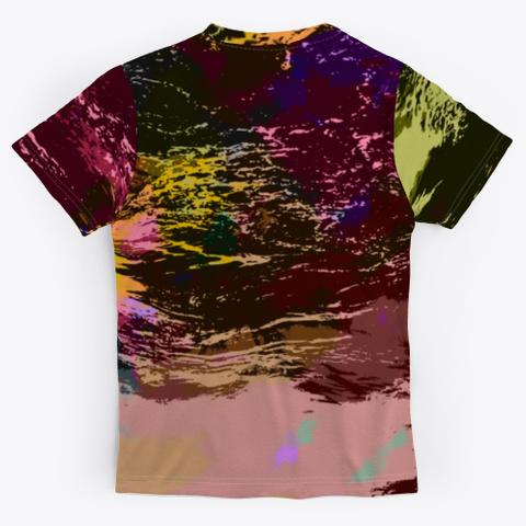 Epic Vibe   Batik Tie Dye Camouflage Art Standard T-Shirt Back