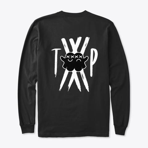 Limited  Tp Merch Black T-Shirt Back