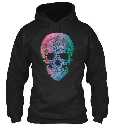 Skull Of The Forgotten Trees Shirt Black T-Shirt Front