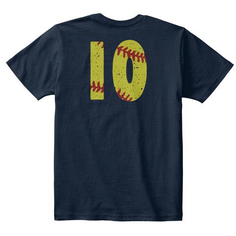 10 New Navy T-Shirt Back
