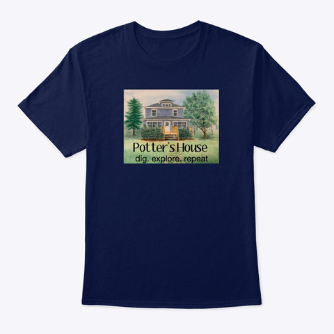 Limited Edition Potters House Shirts! Navy T-Shirt Front