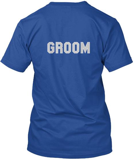 Groom Deep Royal Kaos Back