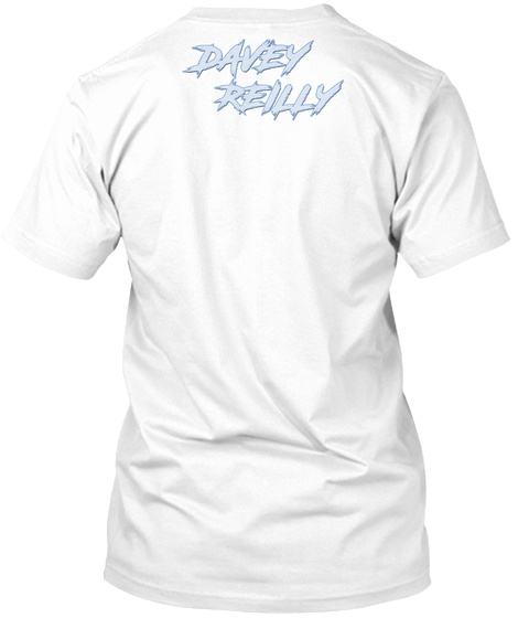 Davey Reilly   Disposable Camera White T-Shirt Back