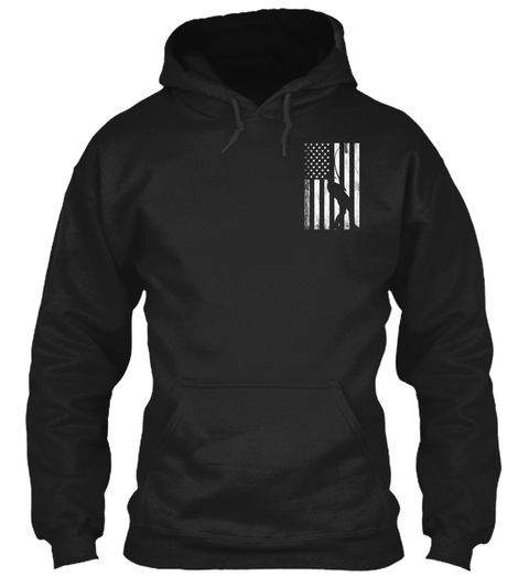 American Fisherman   Limited Release Black Sweatshirt Front