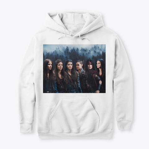 Octavia Blake Evolution Collection White T-Shirt Front