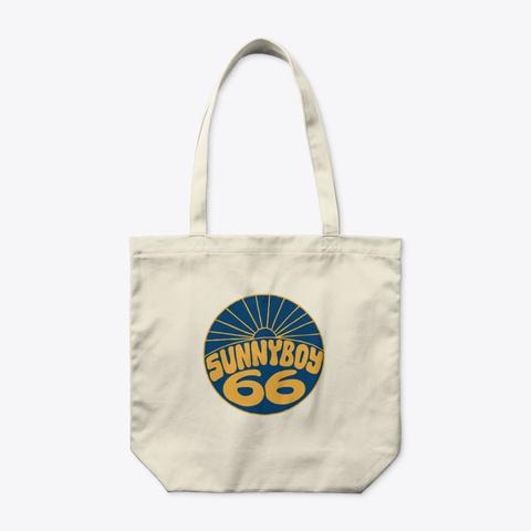 Organic Tote Bag Natural T-Shirt Front