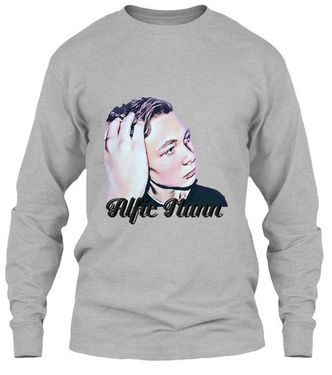 Alfie Jumper Sport Grey T-Shirt Front