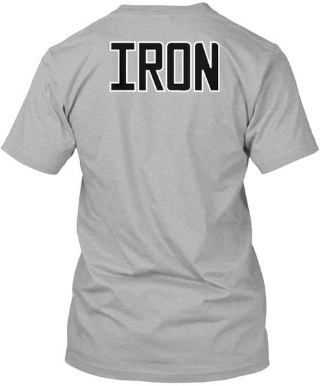 Iron Athletic Heather T-Shirt Back