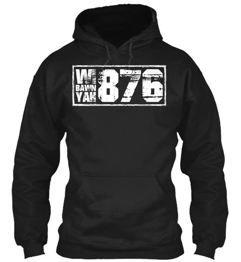 Wi Bawn Yak 876 Black Sweatshirt Front