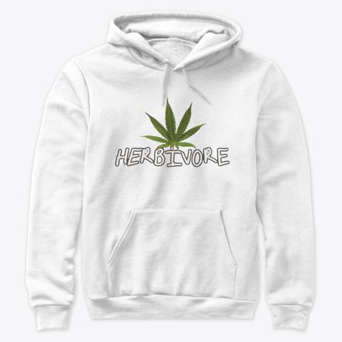 Herbivore White T-Shirt Front