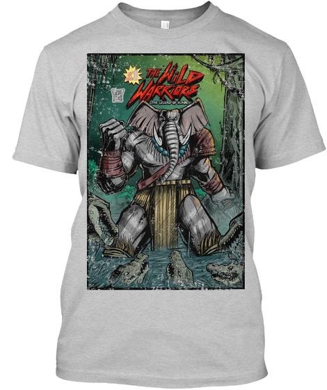 The Wild Warriors Light Steel T-Shirt Front