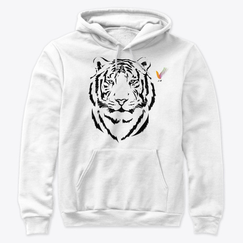 The Soul Of The Tiger White T-Shirt Front