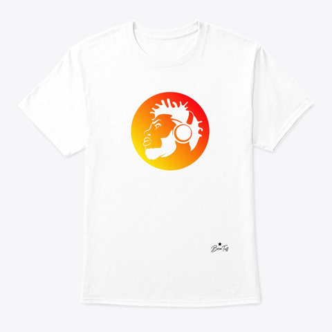Rising Beats White T-Shirt Front