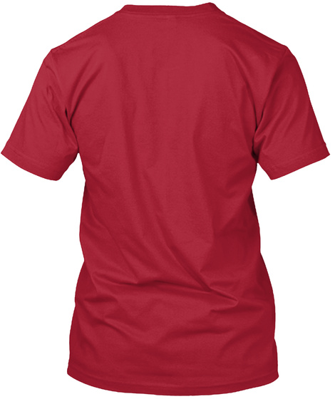 Evolution Of The Bongo Cherry Red T-Shirt Back