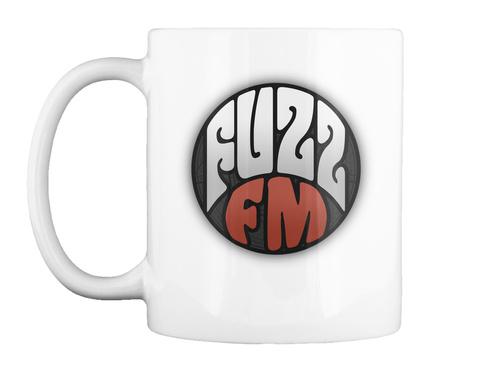 The Fuzz Mug White Mug Front