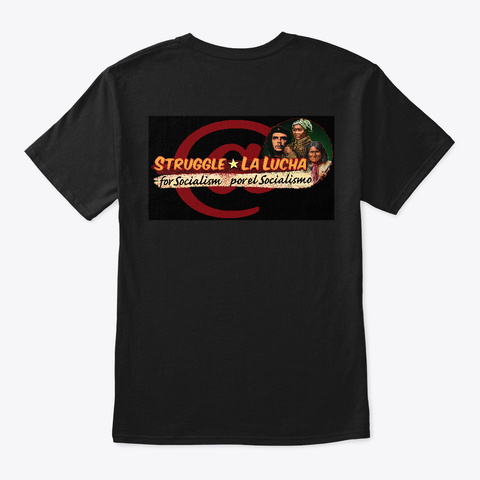 Che Harriet Tubman Geronimo Black Black T-Shirt Back