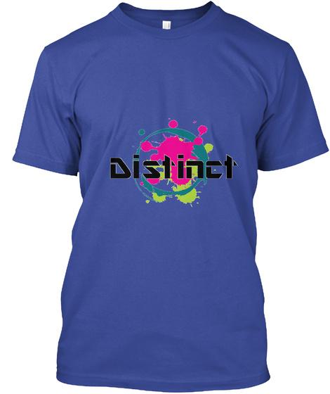 Lit Deep Royal T-Shirt Front