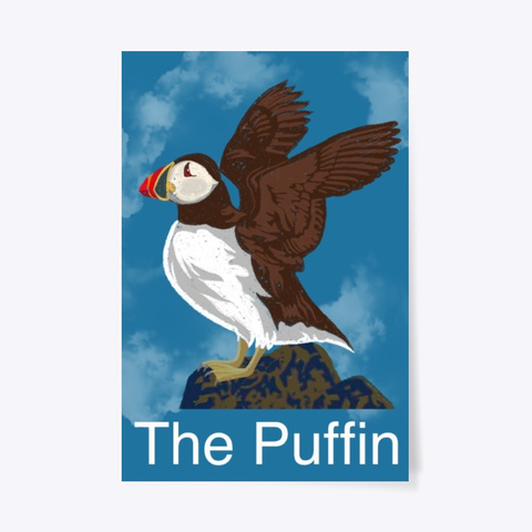 The Puffin Standard T-Shirt Front