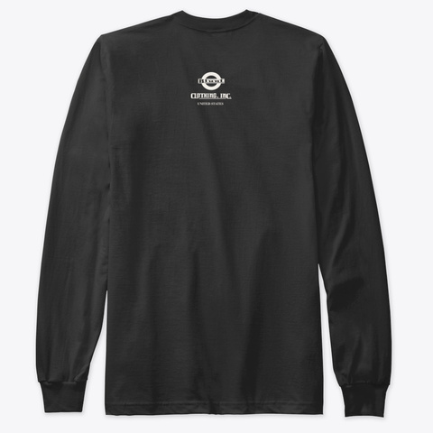 Blunt Clothing Eddie Black T-Shirt Back