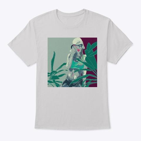 Valley Girls  Light Steel T-Shirt Front