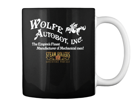 The Wolfe Autobot Mug Black Mug Back