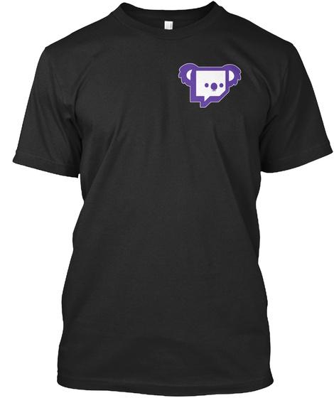 Twitch Australia   Melbourne Black T-Shirt Front