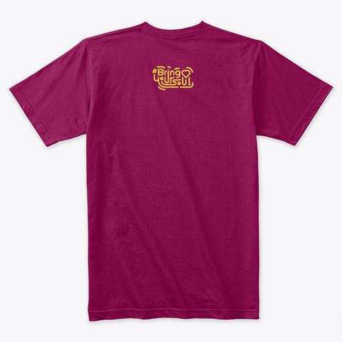 Memphis Tee Cardinal T-Shirt Back