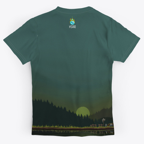 Woodland Standard T-Shirt Back
