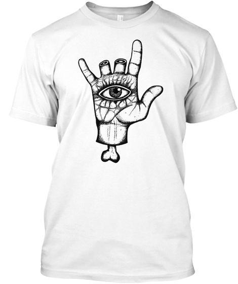 Hamsa White T-Shirt Front