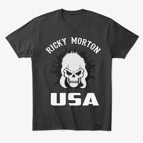 Ricky Morton T Shirt Black T-Shirt Front
