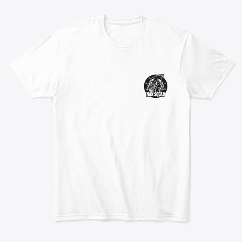 Nak Squad Joker   Tees White T-Shirt Front