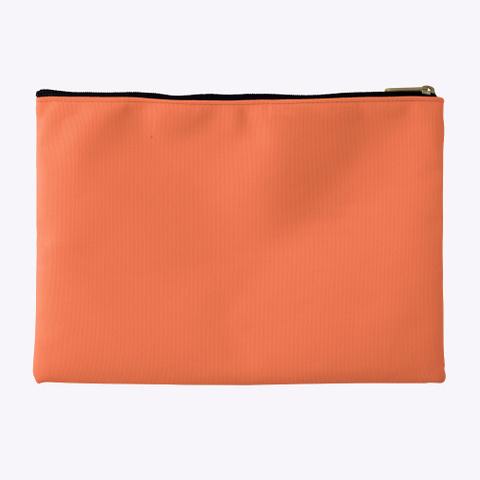 Sjac Oranges Coral T-Shirt Back
