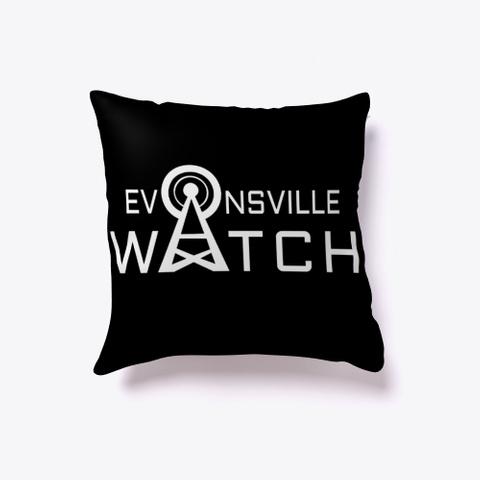 Evansville Watch Black T-Shirt Front