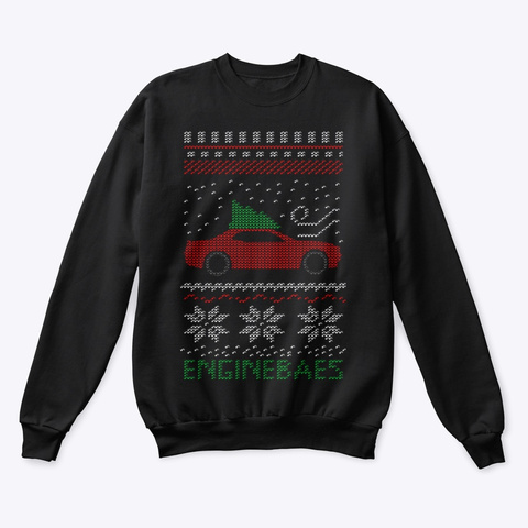 """Ugly"" Sweater Muscle Class Dc Black Sweatshirt Front"