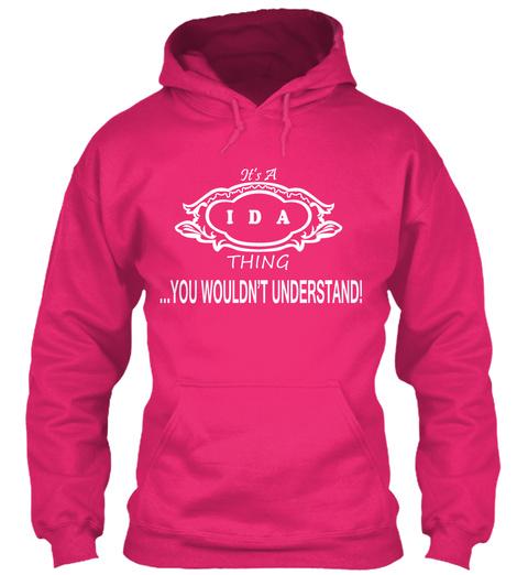 Ida Thing Tshirt Heliconia T-Shirt Front