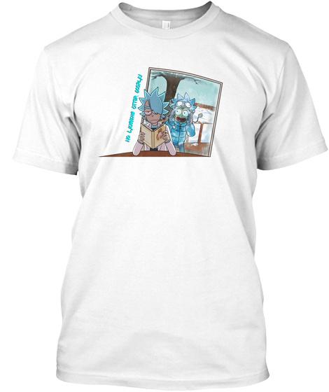 Zero Tolerance White T-Shirt Front