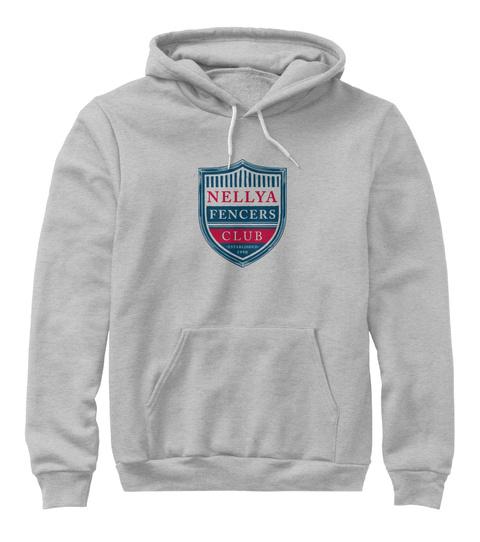 Nellya Spirit Wear Athletic Heather T-Shirt Front