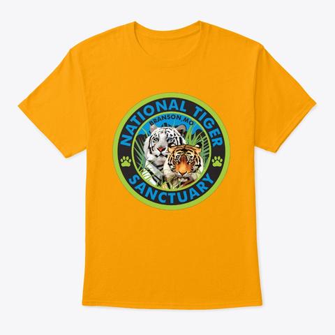 Nts Logo Gold T-Shirt Front