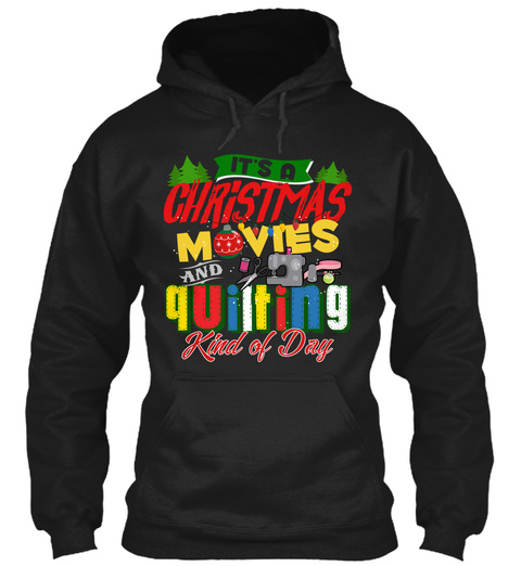 Quilting   Black Friday Exclusive Black T-Shirt Front