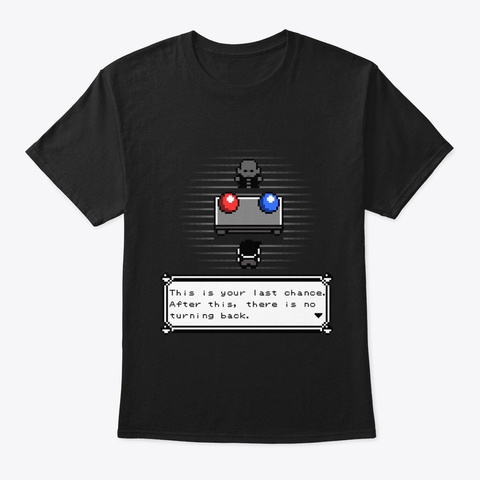 The Easiest Choice Black T-Shirt Front