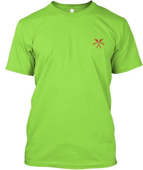 Awesome Lineman  Shirt Lime T-Shirt Front