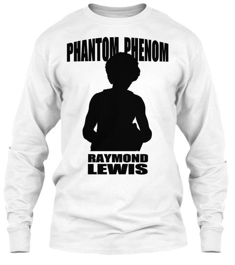 Phantom Phenom T Shirt White T-Shirt Front