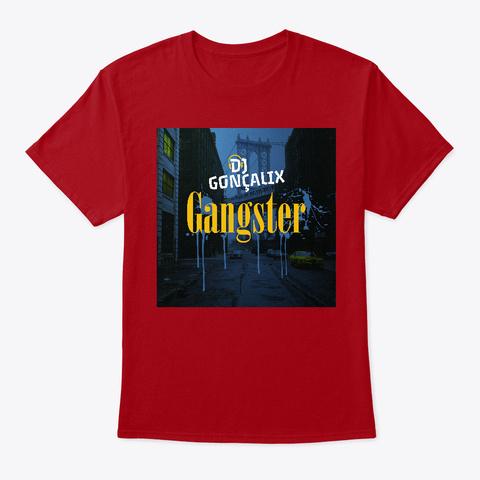 T Shirt Gangster Deep Red T-Shirt Front