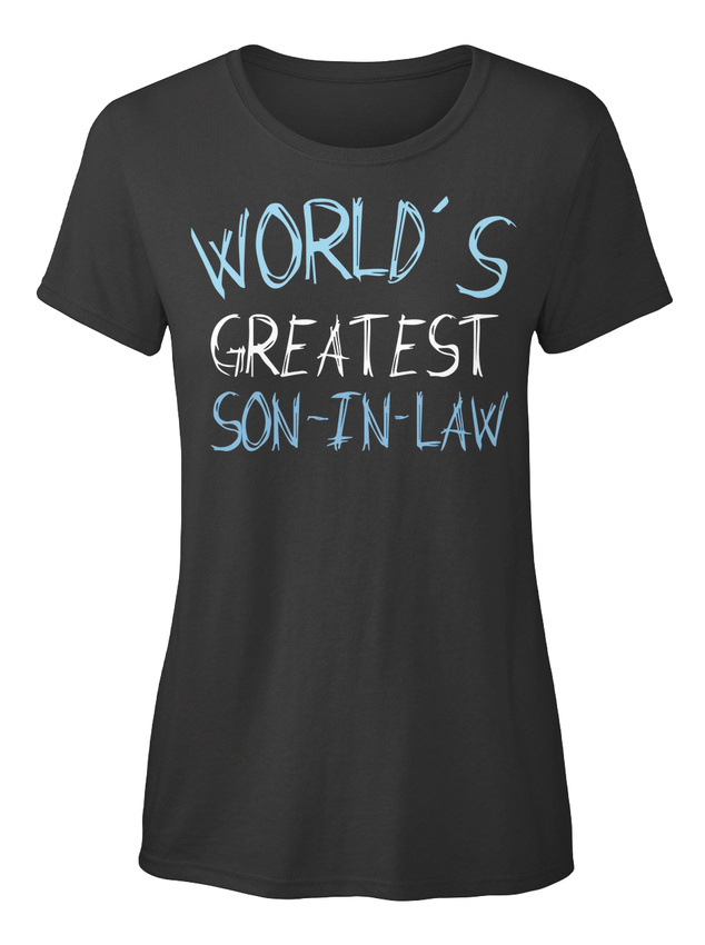 One-of-a-kind-Son-in-law-T-shirt-Elegant-pour-Femme-T-shirt-Elegant-pour-Femme