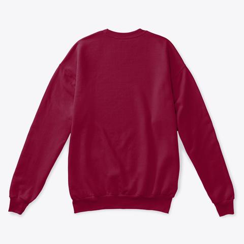 Saxophone Ugly Christmas Sweater Cardinal  T-Shirt Back
