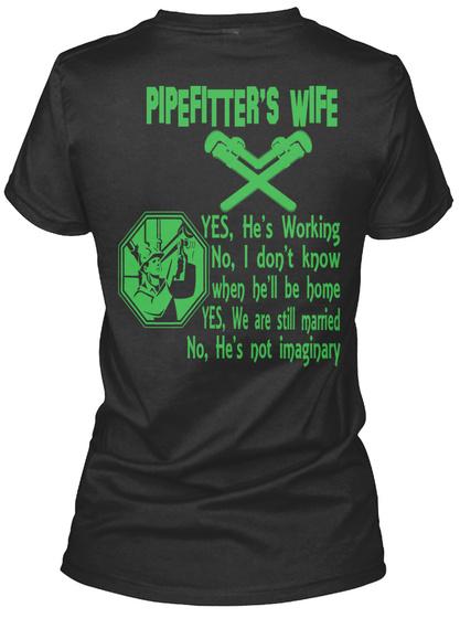 Pipefitters Wife!! He/'s Gildan Hoodie Sweatshirt Pipefitter/'s Wife Yes