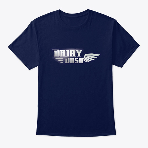 Dairy Dash T Shirt Navy T-Shirt Front