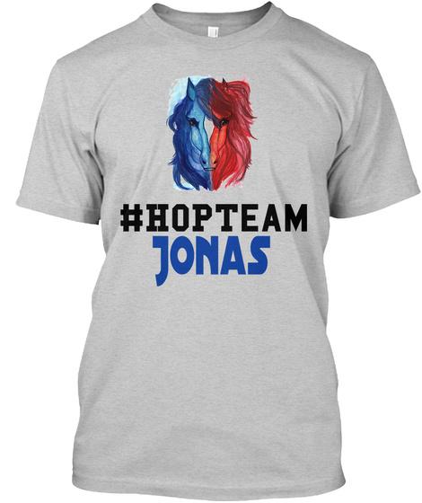 #Hopteam Jonas Light Steel T-Shirt Front