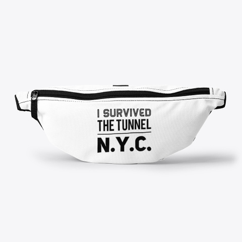 I Survived The Tunnel Nyc Apparrel Standard T-Shirt Front